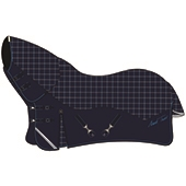 Lightweight Combo Turnout Rug Plaid