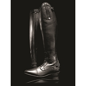 Long Leather Competition Field  Boot (Short/Wide Calf)
