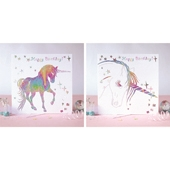 Prancing Birthday Cards (2 Designs)