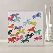 Prancing Ponies Cards (1 Design)