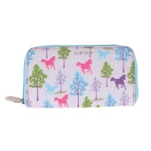 Playful Ponies Long Wallet