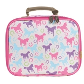 Playful Ponies PVC Lunch Bag