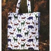Tartan Wildlife Shopper Bag