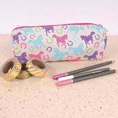 Playful Ponies Pencil Case