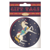 Carousel 10 x Gift Tags (Box of 12)