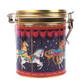 Carousel Tea Caddy (approx. 40 bags)