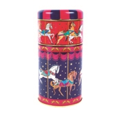 Carousel Tea & Biscuit Caddy