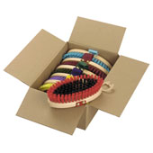 Wooden Body Brush (Box of 6)