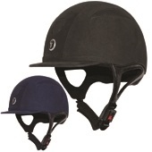 Challenger Riding Hat Suede