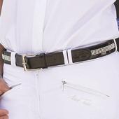Diamante Leather Belt