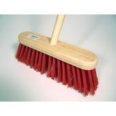 PVC Filled Flat Top Broom