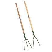 Hay/Pitch Forks - Wooden Handle