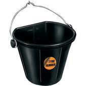 Flatbacked Bucket