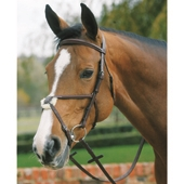 Plain Raised Bridle with Grakle Noseband