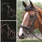 Performance Patent Piped Flash Bridle