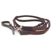 Leather/Rope Draw reins with Elastic