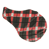 Tartan Fleece Saddle Cover