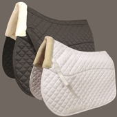 Super Faux Sheepskin Saddlepad